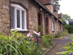 Almshouses in Wing Buckinghamshire
