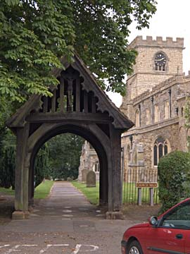 All Saints lychgate, Wing Buckinghamshire