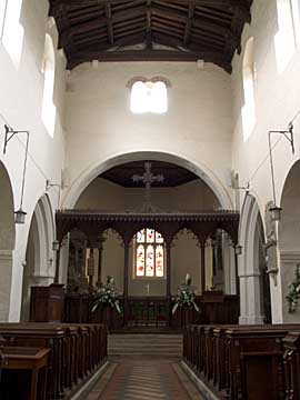 All Saints nave