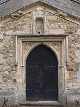 All Saints Church south porch entrance