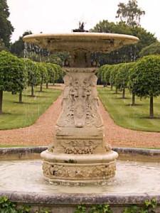 Ascott House fountain, Wing Buckinghamshire