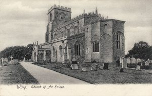 All Saints Church In Postcards