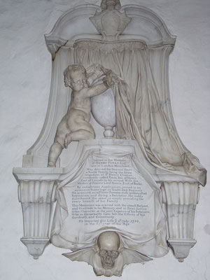 Memorial to Henry Fynes of Wing