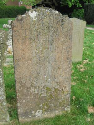 Gravestone of Thomas Heley in Wing Buckinghamshire