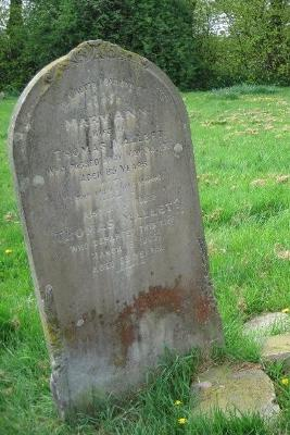 Gravestone of Thomas Mallett and Mary Ann Mallett in Wing Buckinghamshire