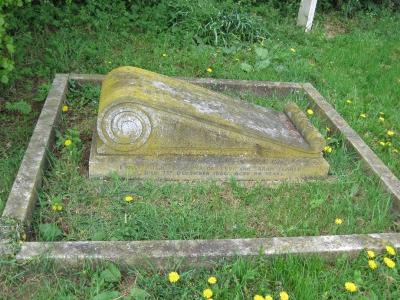 Gravestone of Emily Pugh in Wing Buckinghamshire