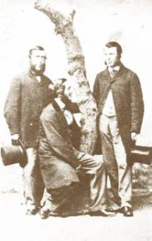 Farmers Prentice and Hart in Wing Buckinghamshire in the 1860s