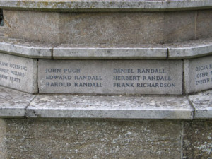 War Memorial close-up