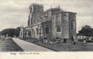 All Saints Church In Postcards